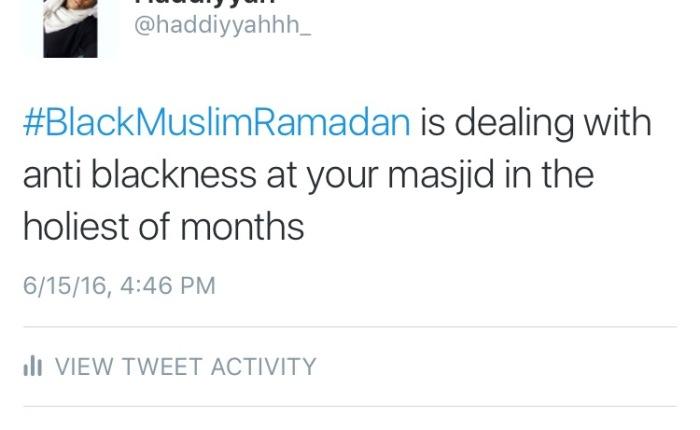 #BlackMuslimRamadan